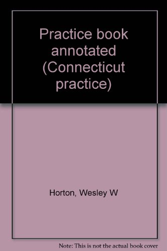 9780314235565: Practice book annotated (Connecticut practice)