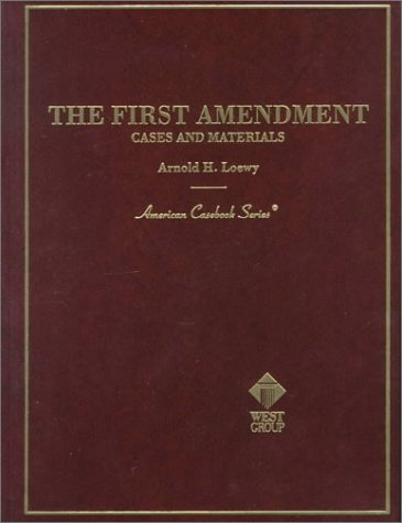 9780314237194: The First Amendment Cases and Materials (American Casebook Series)
