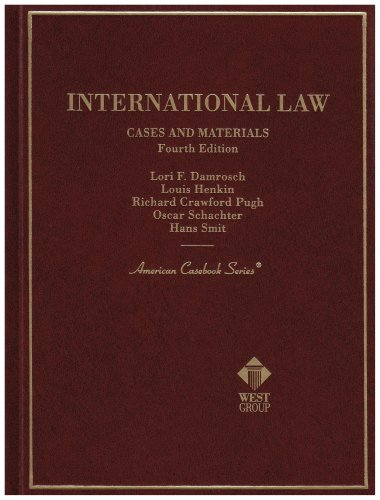 9780314237644: International Law Cases and Materials: Cases and Materials