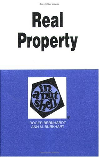 9780314238061: Real Property in a Nutshell (Nutshell Series)