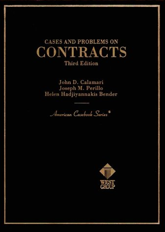 9780314238610: Cases and Problems on Contracts (American Casebooks)