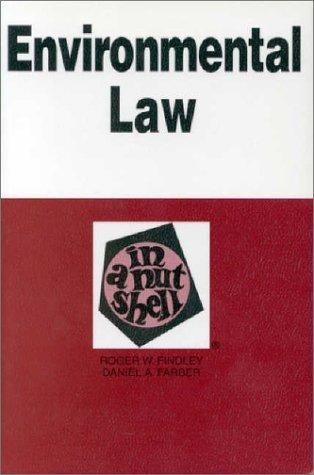 9780314238665: Environmental Law (Nutshell Series.)