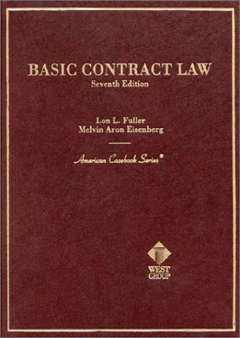 9780314238672: Basic Contract Law (American Casebook Series)