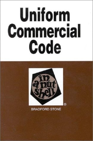 9780314240958: Uniform Commercial Code in a Nutshell (Nutshell Series)