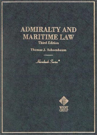 9780314241672: Admiralty and Maritime Law (3rd Edition) (Hornbook Series)