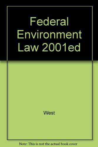 Federal Environmental Laws 2000: West