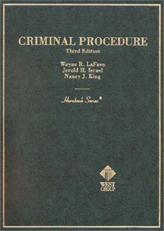 9780314247971: Criminal Procedure (3rd Edition Hornbook Series)