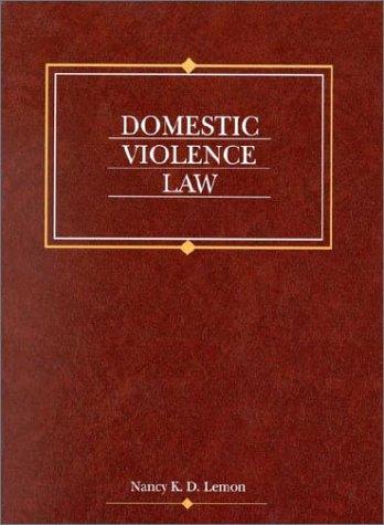 9780314248411: Domestic Violence Law