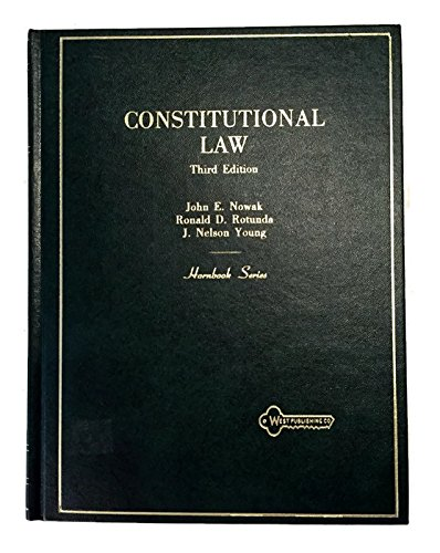 9780314248756: Title: Constitutional Law Hornbook series