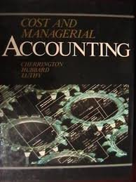 9780314253279: Cost and Managerial Accounting