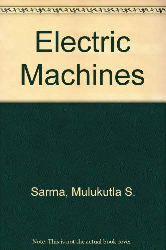 9780314253439: Electric Machines