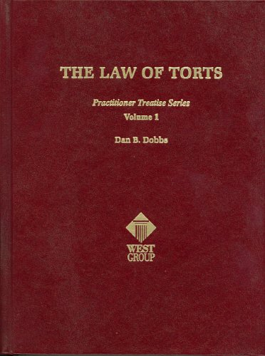 9780314253484: The Law of Torts (Practitioner's Treatise Series)