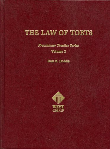 9780314253491: The Law of Torts (Practitioner Treatise) (Practitioner's Treatise Series)