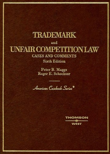 9780314256393: Trademark and Unfair Competition Law: Cases and Comments (American Casebook Series and Other Coursebooks)