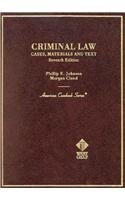 9780314256492: Criminal Law (American Casebook Series)