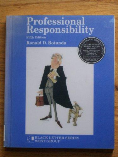 9780314256584: Professional Responsibility (Black Letter Series) (Black Letter Outline Series)
