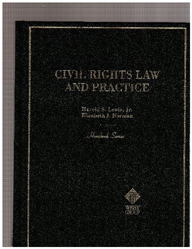 9780314256973: Civil Rights Law and Practice (Hornbook Series)