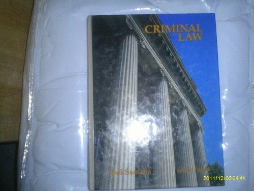 9780314258717: Criminal law