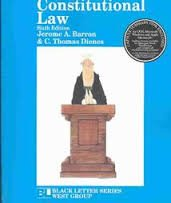 9780314261045: Constitutional Law (Black Letter Series)