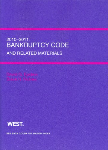9780314263056: Bankruptcy Code and Related Source Materials, 2010-2011