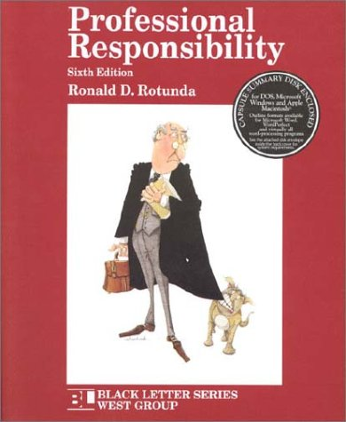 9780314263933: Professional Responsibility (Black Letter Series)