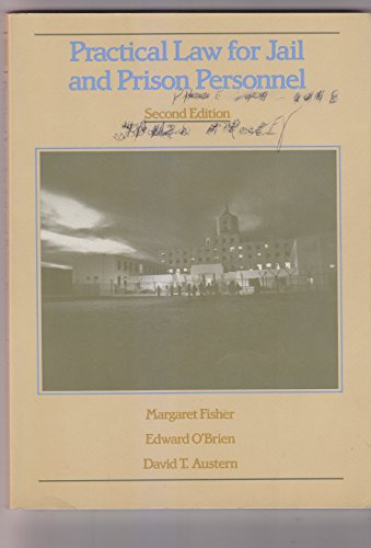 Practical Law for Jail and Prison Personnel (9780314264152) by Margaret Fisher