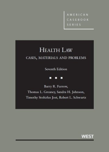 9780314265098: Health Law: Cases, Materials and Problems (American Casebook Series)