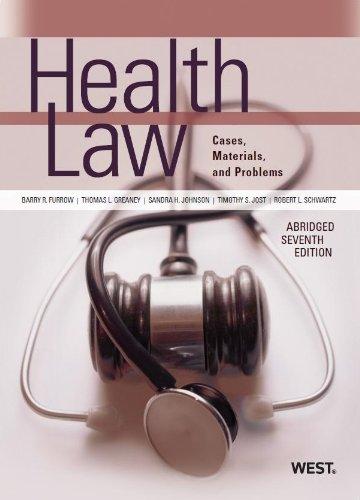 9780314265128: Health Law (American Casebook Series)(Abridged)