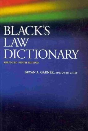 9780314265784: Black's Law Dictionary, Abridged, 9th