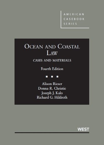 9780314266743: Ocean and Coastal Law, Cases and Materials (American Casebook Series)