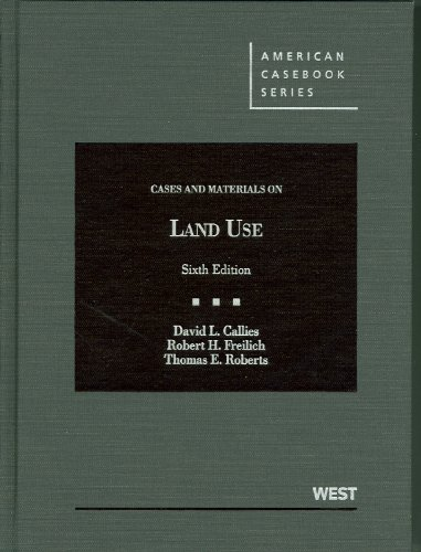 9780314267658: Cases and Materials on Land Use (American Casebook Series)