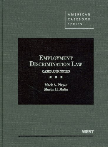 9780314267894: Employment Discrimination Law: Cases and Notes (American Casebook) (American Casebook Series)