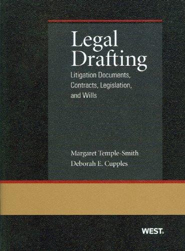 9780314267993: Legal Drafting: Litigation Documents (Coursebook)