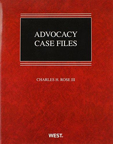 9780314268181: Advocacy Case Files (Coursebook)