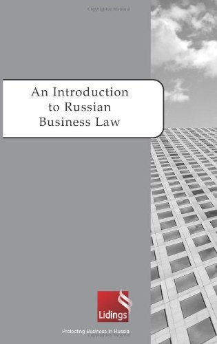 9780314268648: An Introduction to Russian Business Law