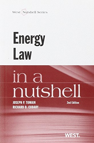 9780314271860: Energy Law in a Nutshell