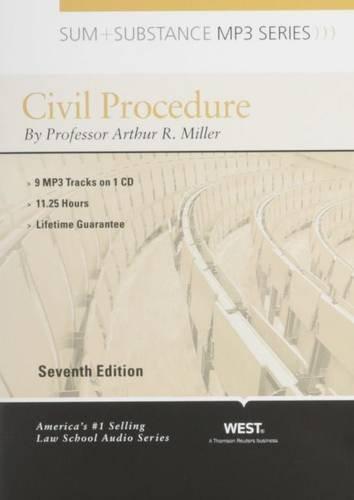 9780314272164: Sum and Substance Audio on Civil Procedure