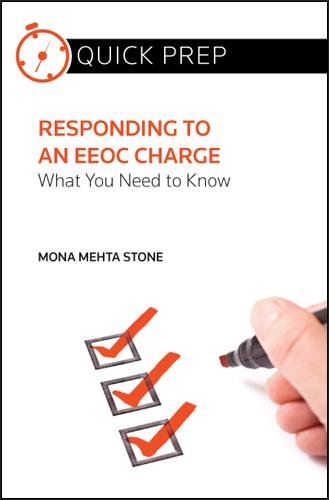 9780314274182: Responding to an Eeoc Charge: What You Need to Know (Quick Prep)