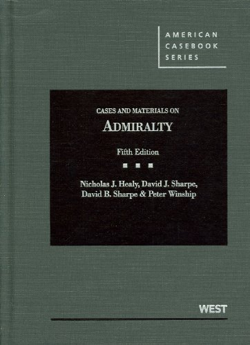 9780314275127: Cases and Materials on Admiralty, 5th Edition (American Casebook)