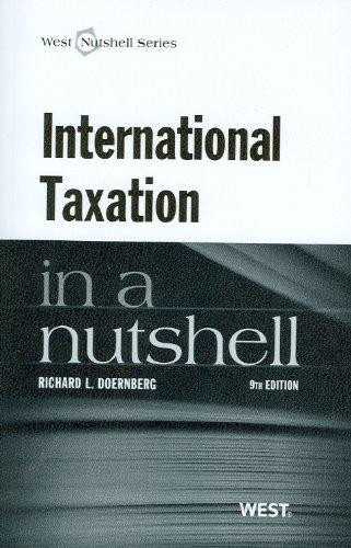 9780314275318: International Taxation in a Nutshell