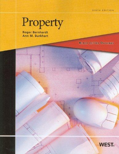 9780314275509: Black Letter Outline on Property (Black Letter Outlines)