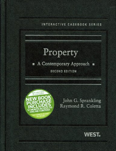 Property : A Contemporary Approach: Raymond R. Coletta;