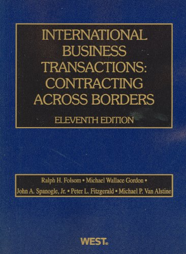 9780314276131: International Business Transactions: Contracting Across Borders (American Casebook Series)