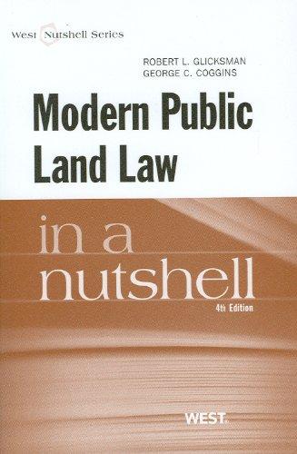 9780314276551: Modern Public Land Law in a Nutshell (Nutshells)