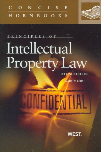 9780314277794: Principles of Intellectual Property Law (Concise Hornbook Series)