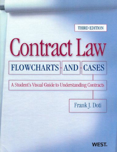 9780314277893: Contract Law, Flowcharts and Cases, A Student's Visual Guide to Understanding Contracts, 3d (Coursebook)