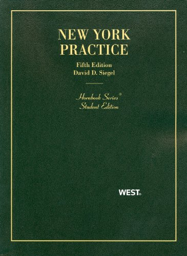 9780314278418: New York Practice, 5th Edition, Student Edition
