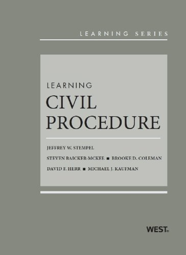 9780314278777: Learning Civil Procedure (Learning Series)