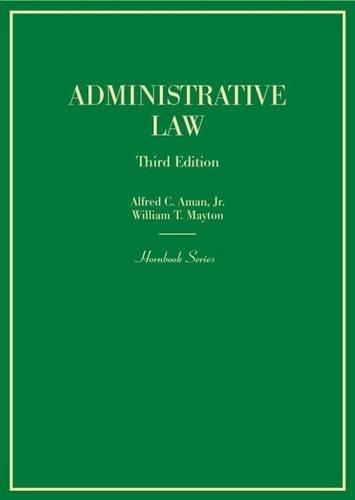 9780314279415: Administrative Law (Hornbooks)