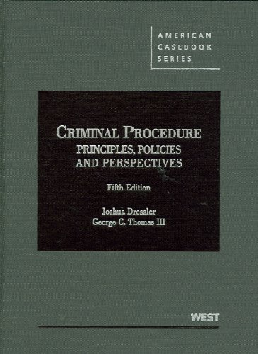 9780314279484: Criminal Procedure: Principles, Policies and Perspectives (American Casebook Series)
